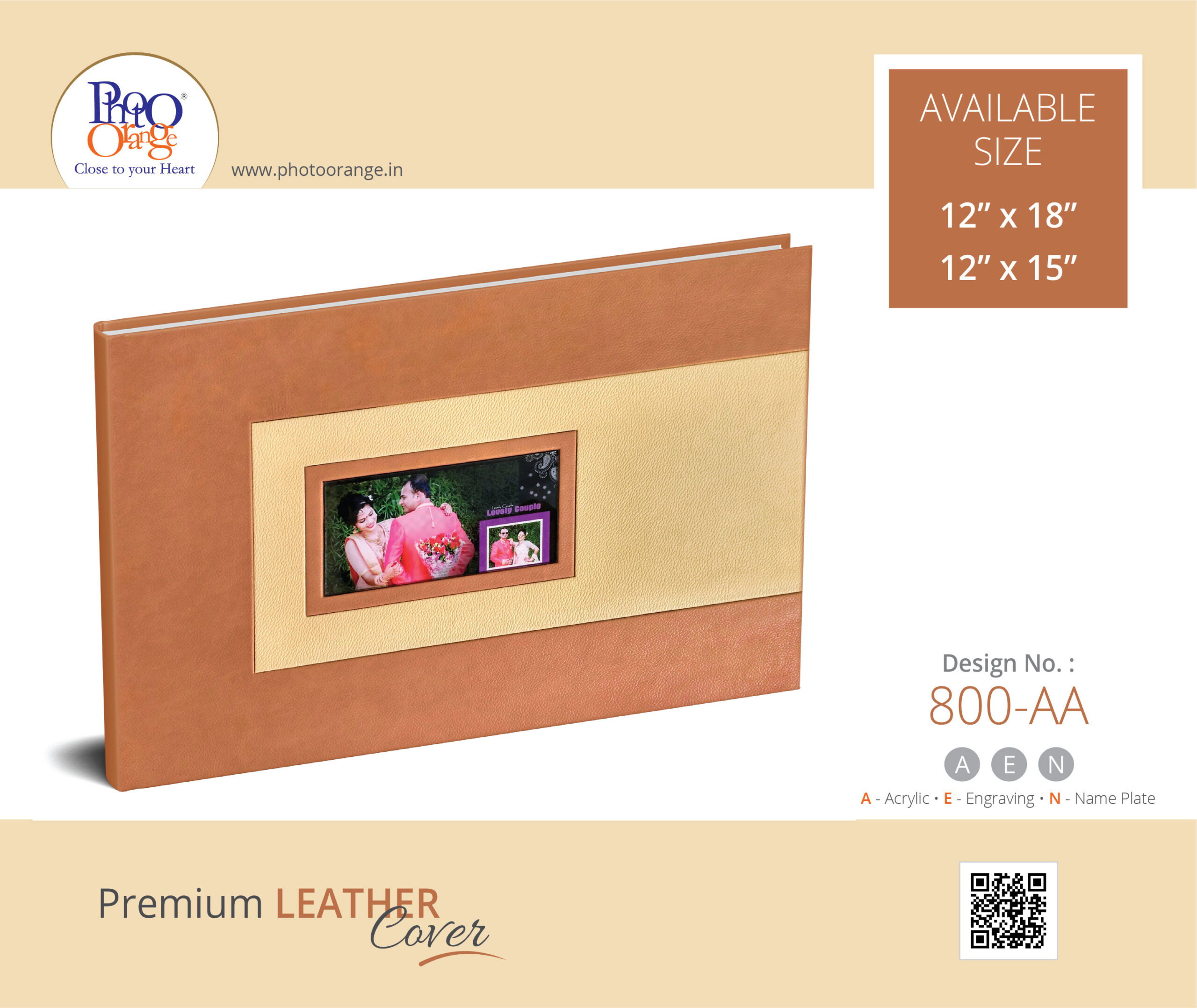 Leather Cover 800 AA