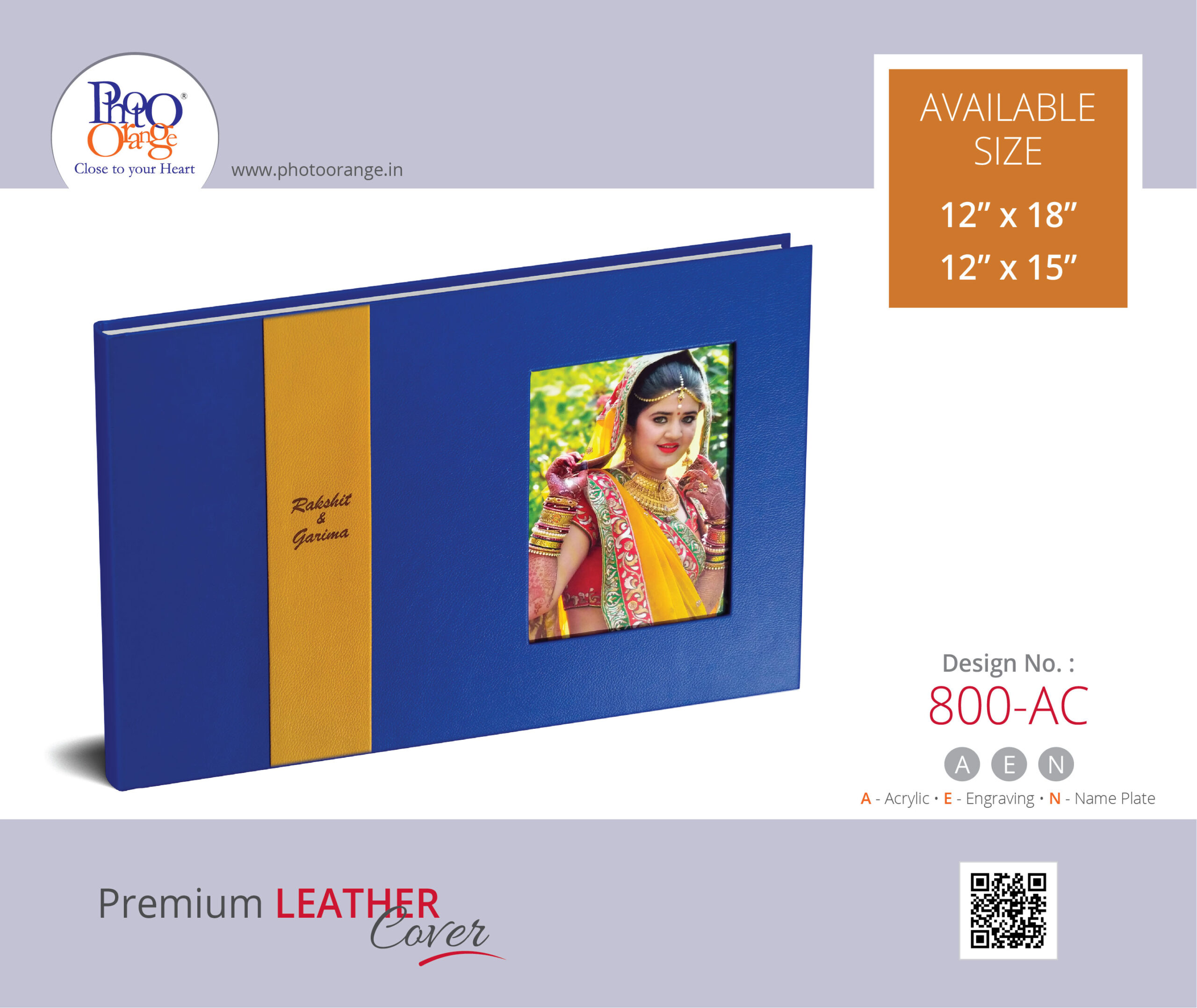 Leather Cover 800 AC