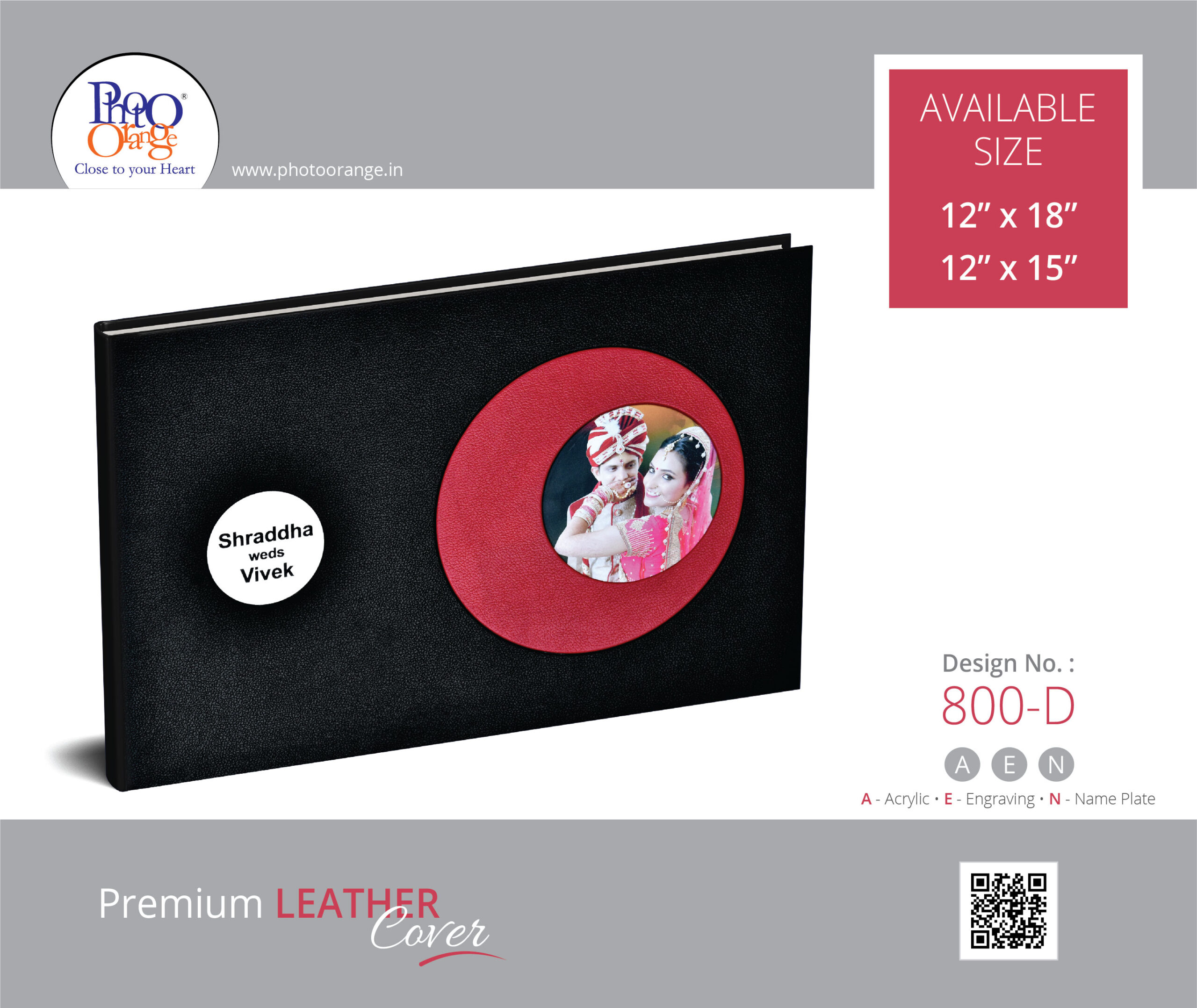 Leather Cover 800 D