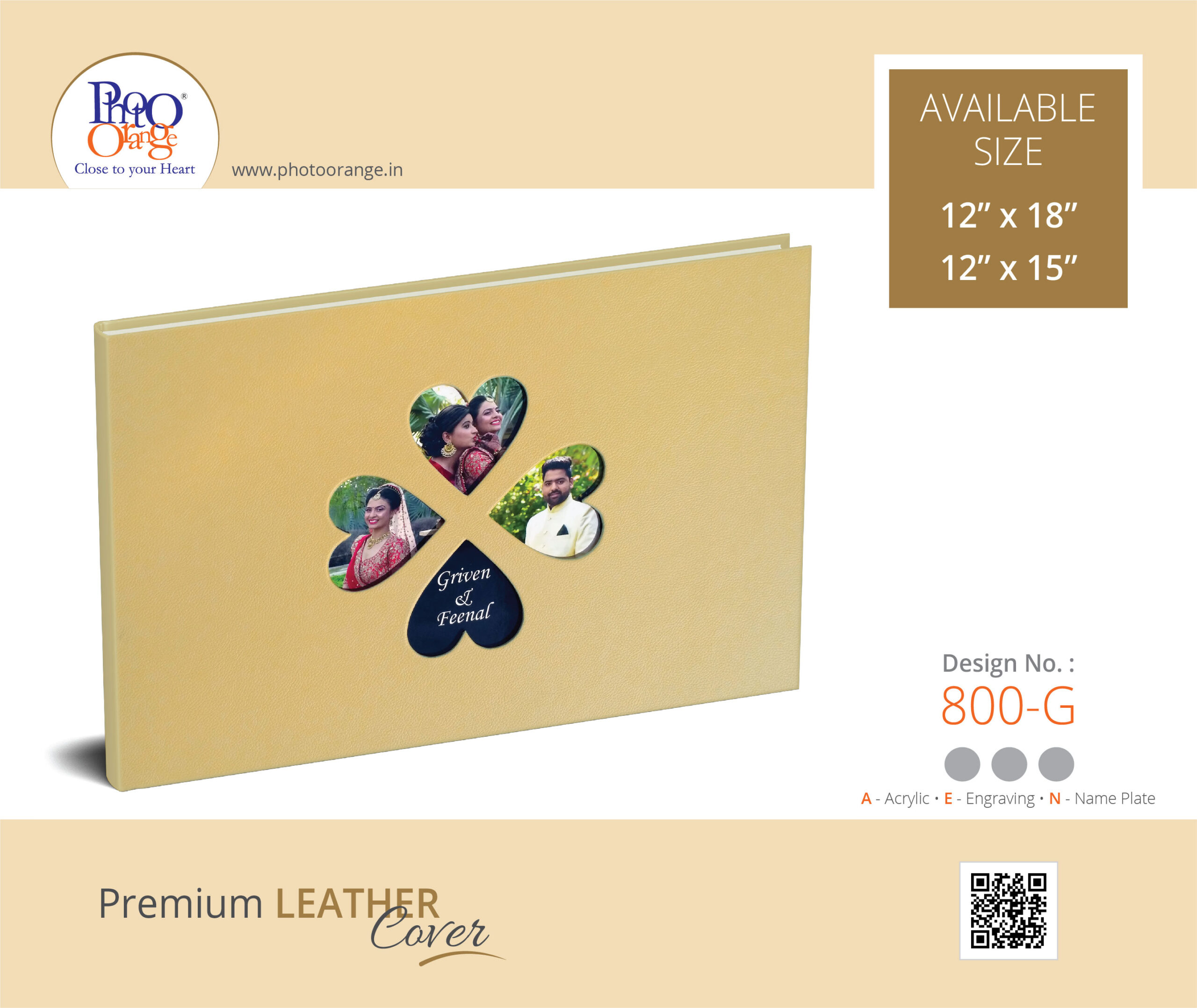 Leather Cover 800 G
