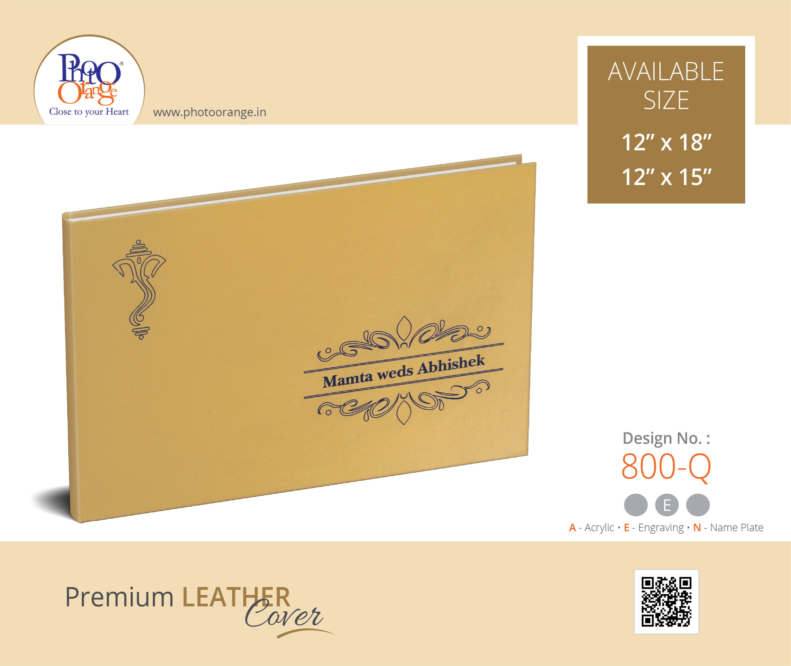 Leather Cover 800 Q