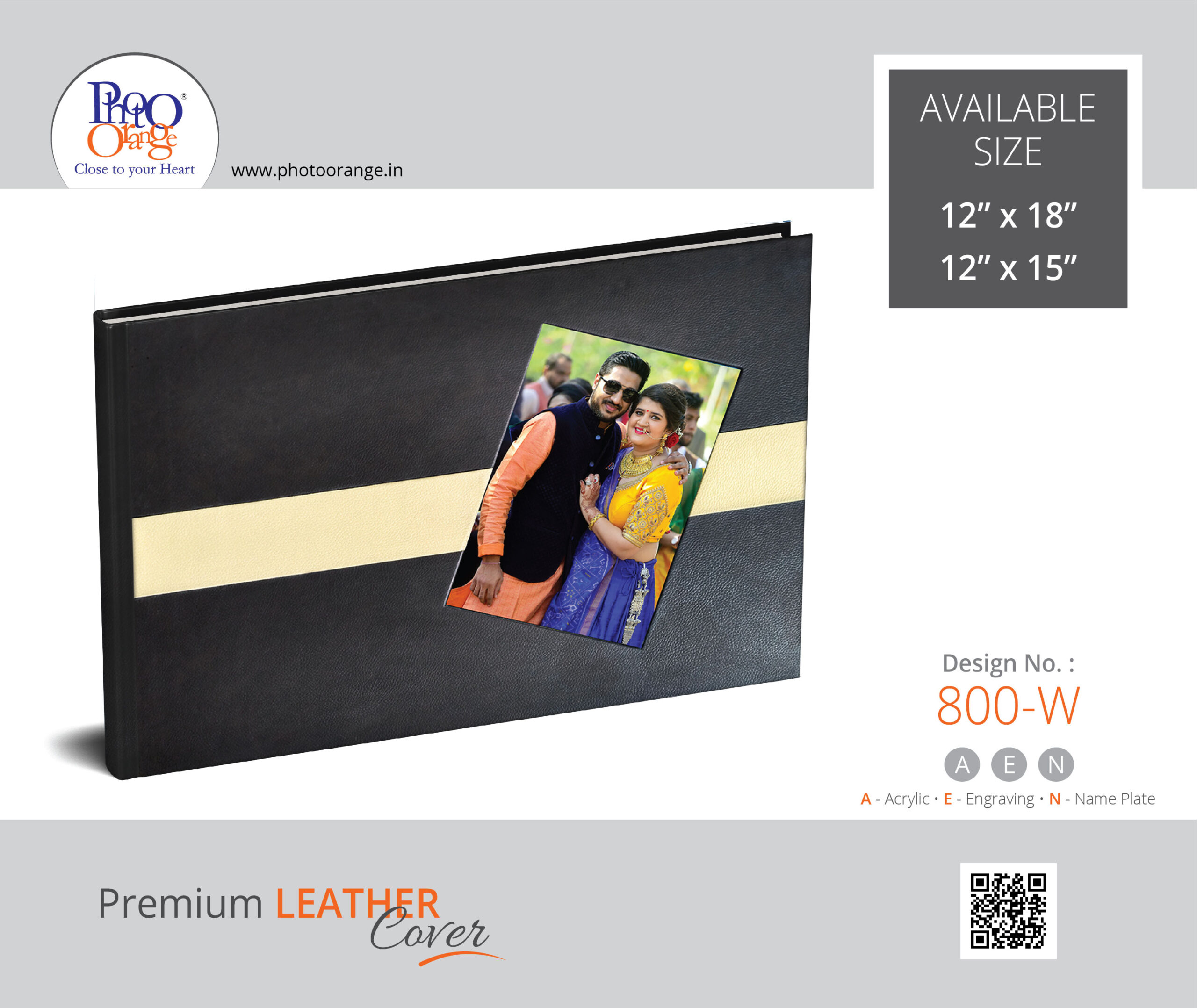 Leather Cover 800 W