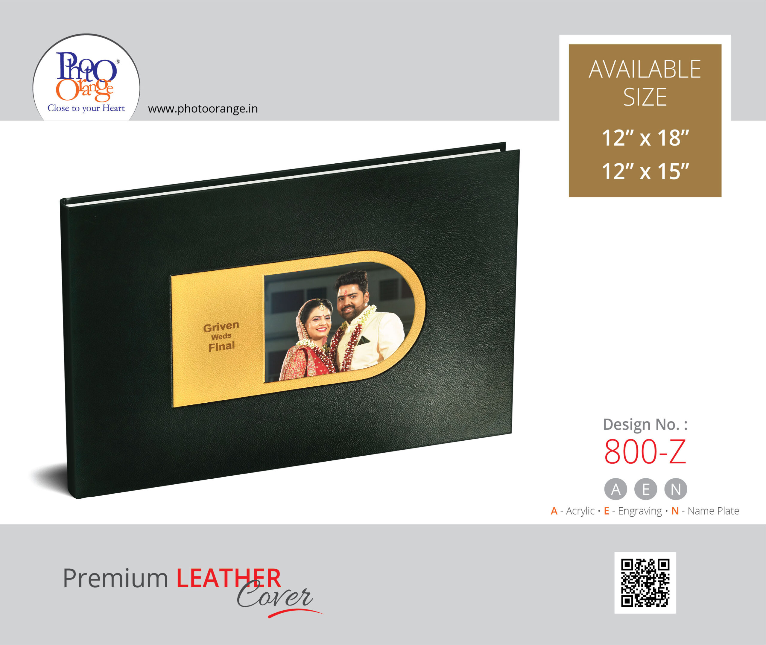 Leather Cover 800 Z
