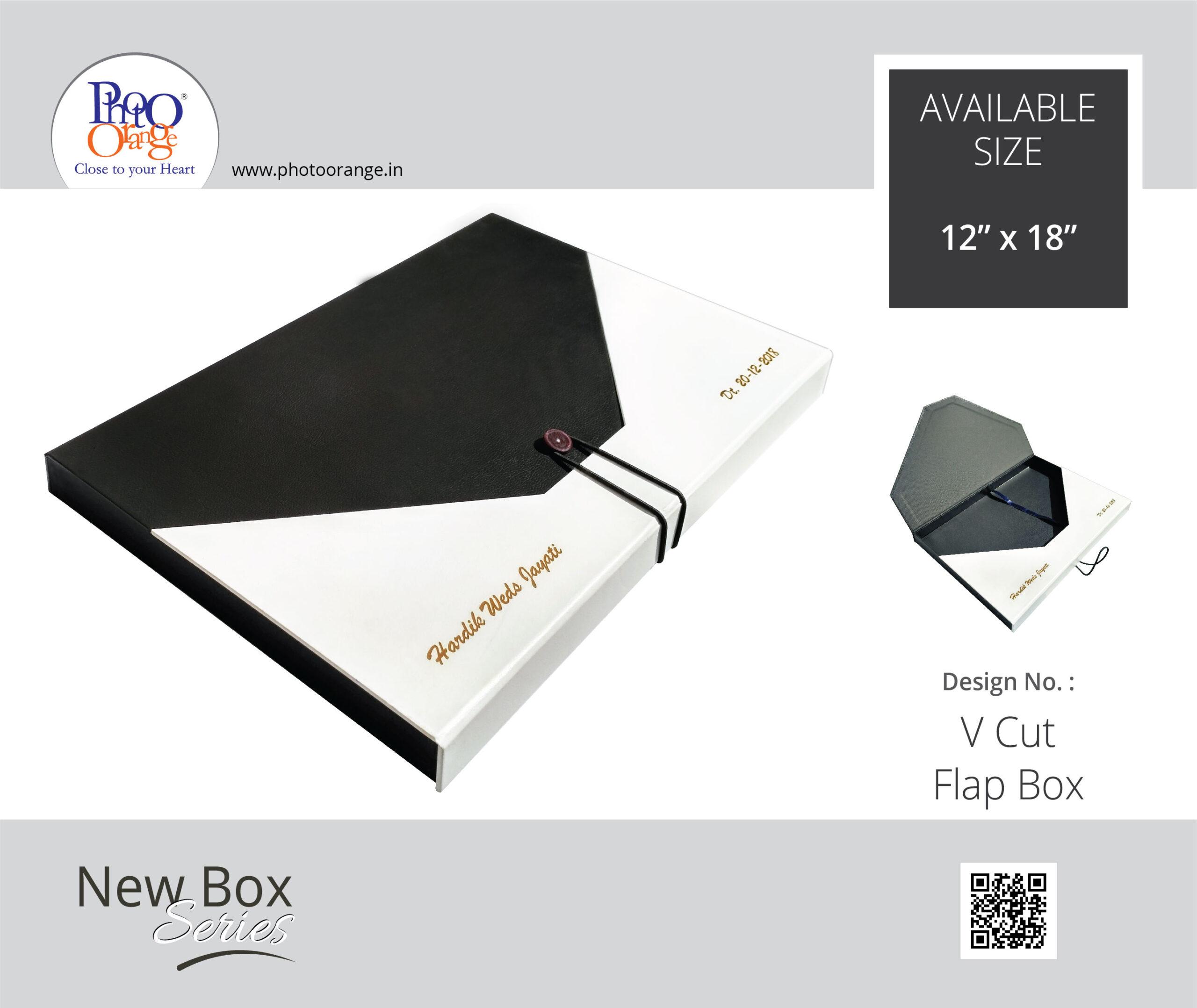 V Cut Flap Box